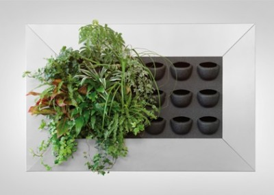 Vertical Green LivePicture - Gruen und Raum